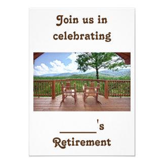 HUMOR/RETIREMENT VONT DE PAIR INVITATION