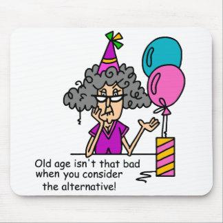 Humour alternatif d'anniversaire tapis de souris