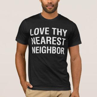 """Humour """"amour de ml Thy"""" T-shirt voisin plus"""