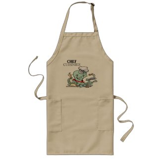 Humour : cuisinier - tablier