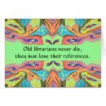 humour de bibliothécaires carte de vœux