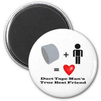 Humour de bricoleur du meilleur ami de l'homme de  magnet rond 8 cm