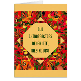 humour de chiroprakteurs cartes de vœux
