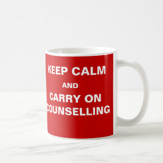 Humour de client de conseiller - gardez la mug