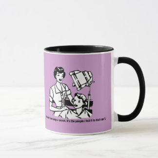Humour de coiffeur - naturellement je peux garder mug
