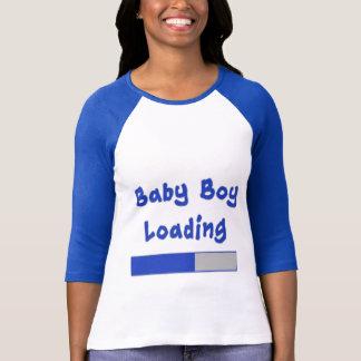 Humour de maternité de chargement de bébé t-shirt