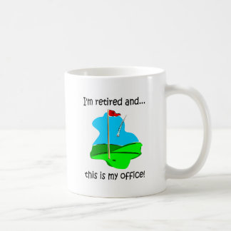 Humour de retraite pour des golfeurs mug