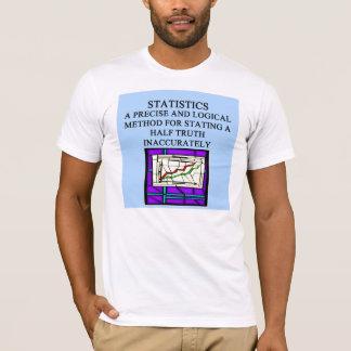 Humour de statisticien de STATISTIQUES T-shirt