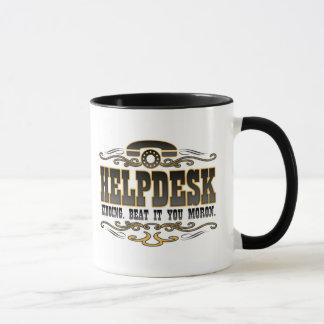 Humour de support technique mug
