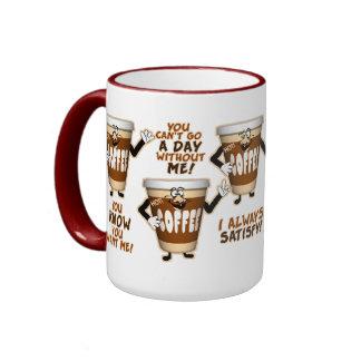 Humour drôle de café tasse
