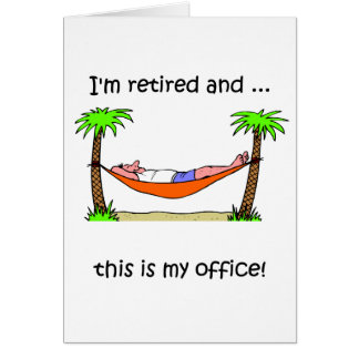 Humour drôle de retraite cartes