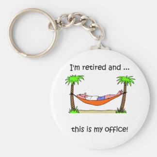 Humour drôle de retraite porte-clefs