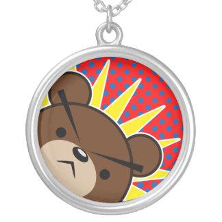 Hurlement grincheux d'ours collier