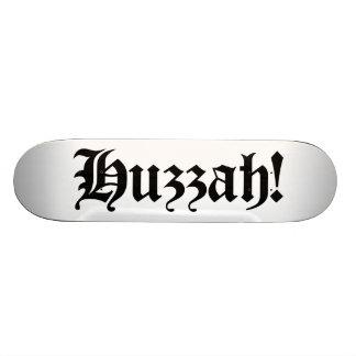 Huzzah ! {Typographie médiévale} Planche À Roulette