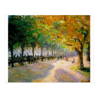 Hyde Park, Londres par Camille Pissarro Carte Postale