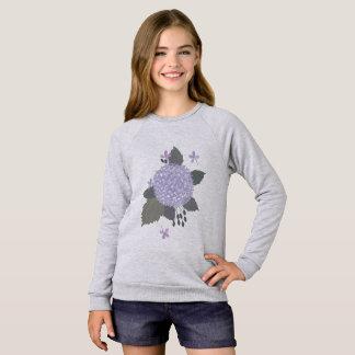 Hydrangea. Sweatshirt
