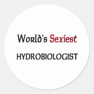 Hydrobiologist le plus sexy du monde adhésifs ronds