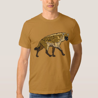 hyène repérée t-shirt