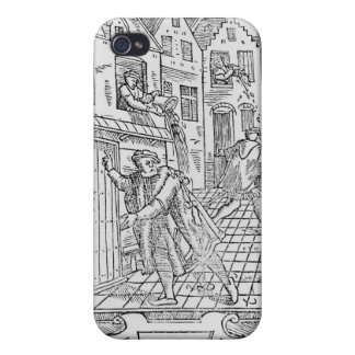 Hygiène dans les Moyens Âges Étui iPhone 4