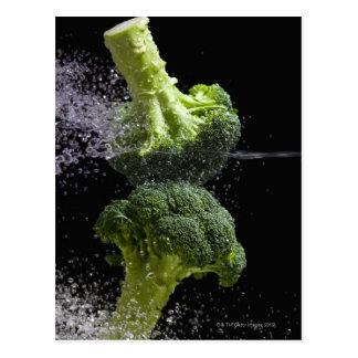 Hygiène de légume et alimentaire fraîche carte postale