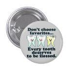 Hygiéniste dentaire drôle de dentiste pin's avec agrafe