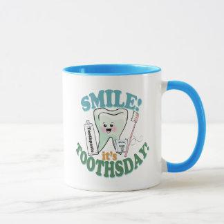 Hygiéniste dentaire drôle de dentiste mug