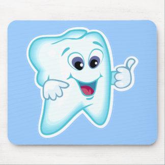 Hygiéniste dentaire drôle tapis de souris
