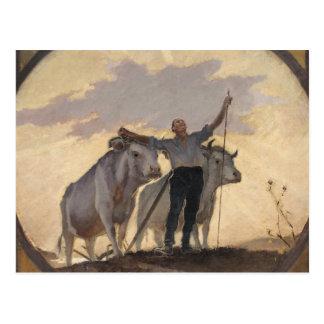 Hymne de la terre au Sun, 1892 Carte Postale