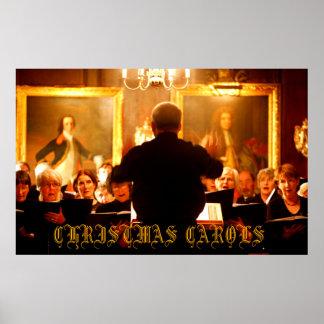 hymnes de louange de Noël Poster