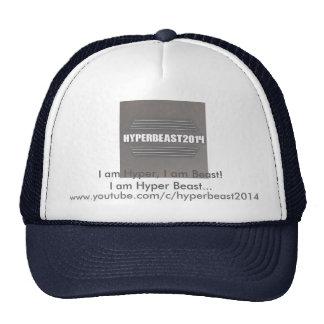 """Hyperbeast2014 """"je suis"""" chapeau hyper (le chapeau casquettes"""