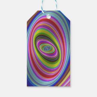 Hypnose colorée étiquettes-cadeau