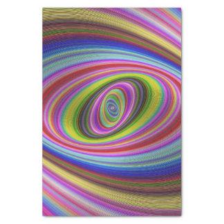 Hypnose colorée papier mousseline
