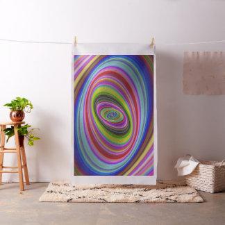 Hypnose colorée tissu