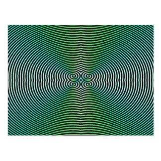 Hypnotique Carte Postale