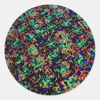 Hypnotisé Sticker Rond