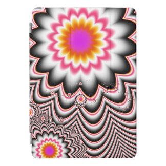 Hypnotiser le coque ipad de fractale de fleur