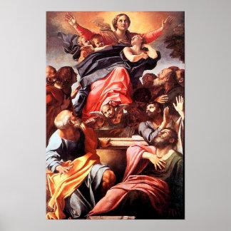 Hypothèse 01 de Vierge Marie de conception Poster