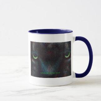 Hyptnotist la panthère noire mug