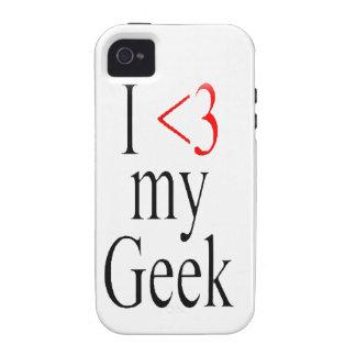 I <3 mon coque iphone de geek coque iPhone 4 de Case-Mate