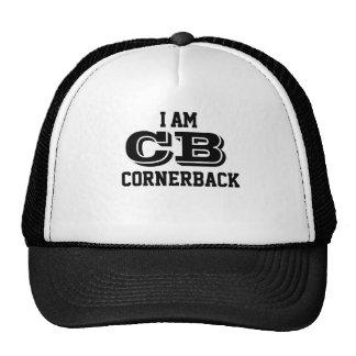 I am cornerback trucker cap casquettes