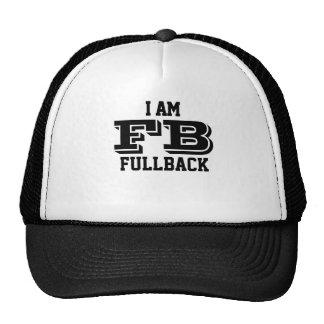I am fullback trucker cap casquettes de camionneur