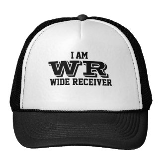 I am wide receiver trucker cap casquette de camionneur