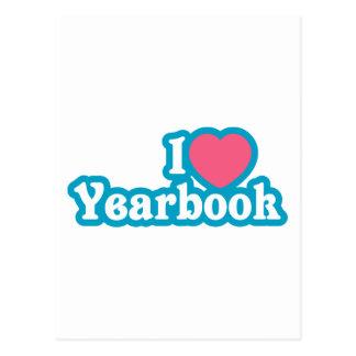 I annuaire de coeur/amour carte postale