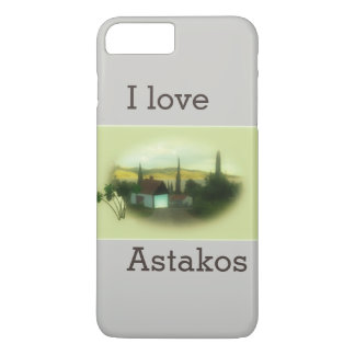 I Astakos Retro love image paysage Coque iPhone 7 Plus