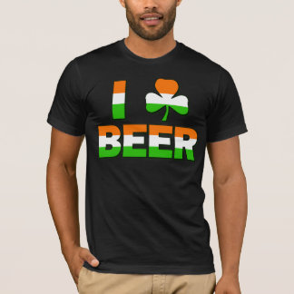 I bière de shamrock t-shirt