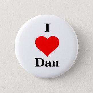 I bouton de Dan de coeur Badge