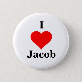 I bouton de Jacob de coeur Badges