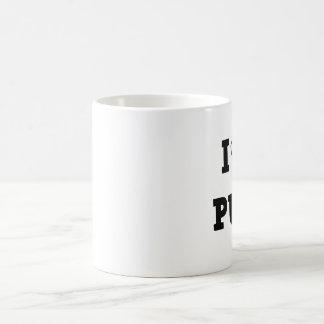 I carlins de coeur mug blanc