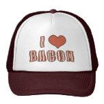 I chapeau 001 de lard de coeur casquettes de camionneur