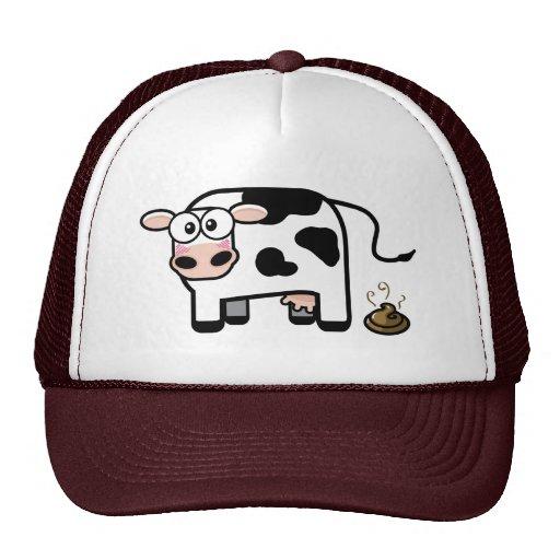 I chapeau drôle de vache à Pooped Casquette De Camionneur